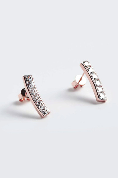 Square Bar Stone Earring (예원,김소은 착용)