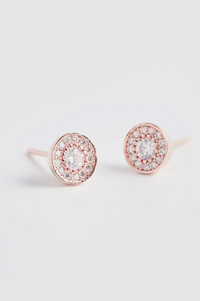 Oriental Circle Basic Earring