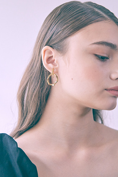 Two Way Wave Earring