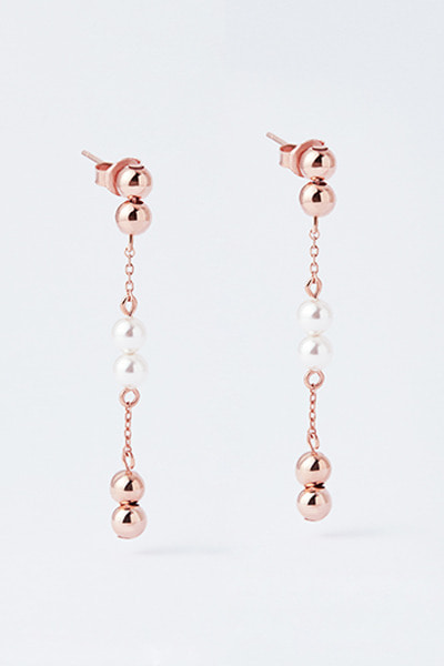 Drop Balls Earring