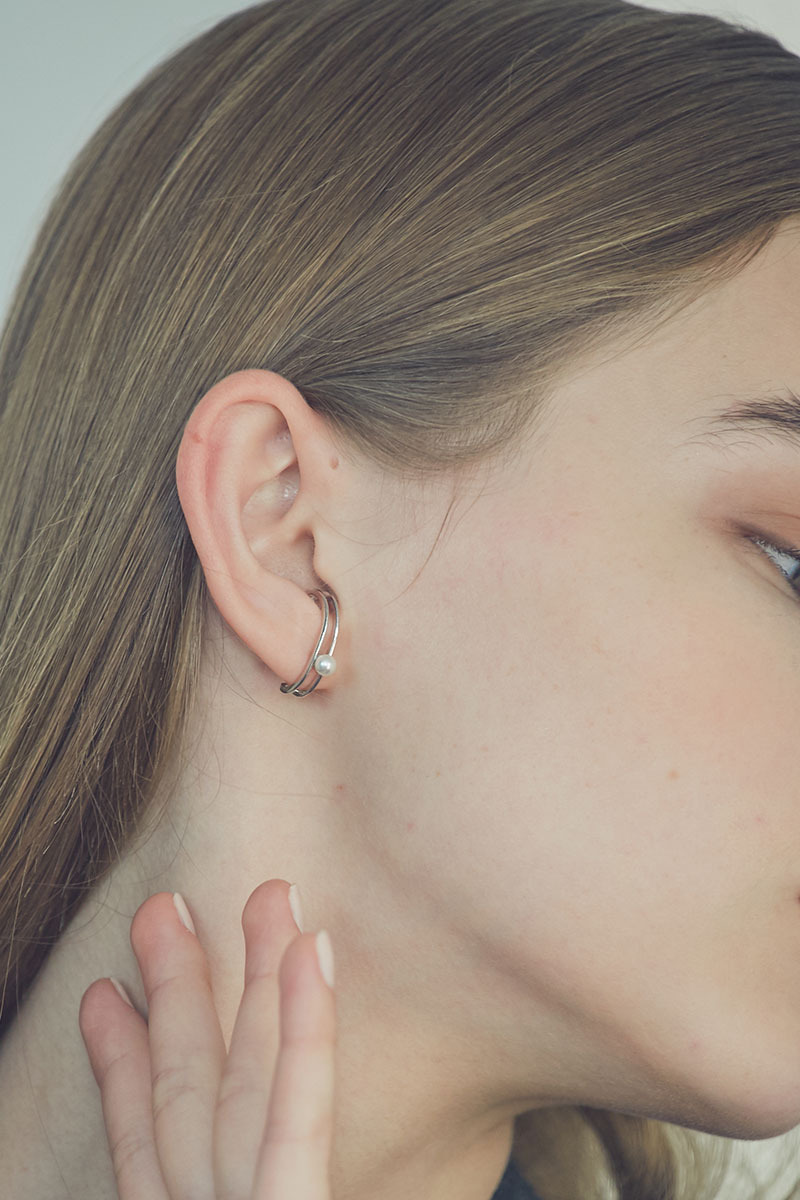 Double Lined Earcuff (심이영 착용)