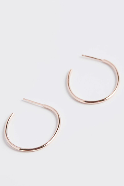 Circle Drop Earring (M)
