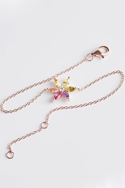 Colorful Flower Blossom Bracelet