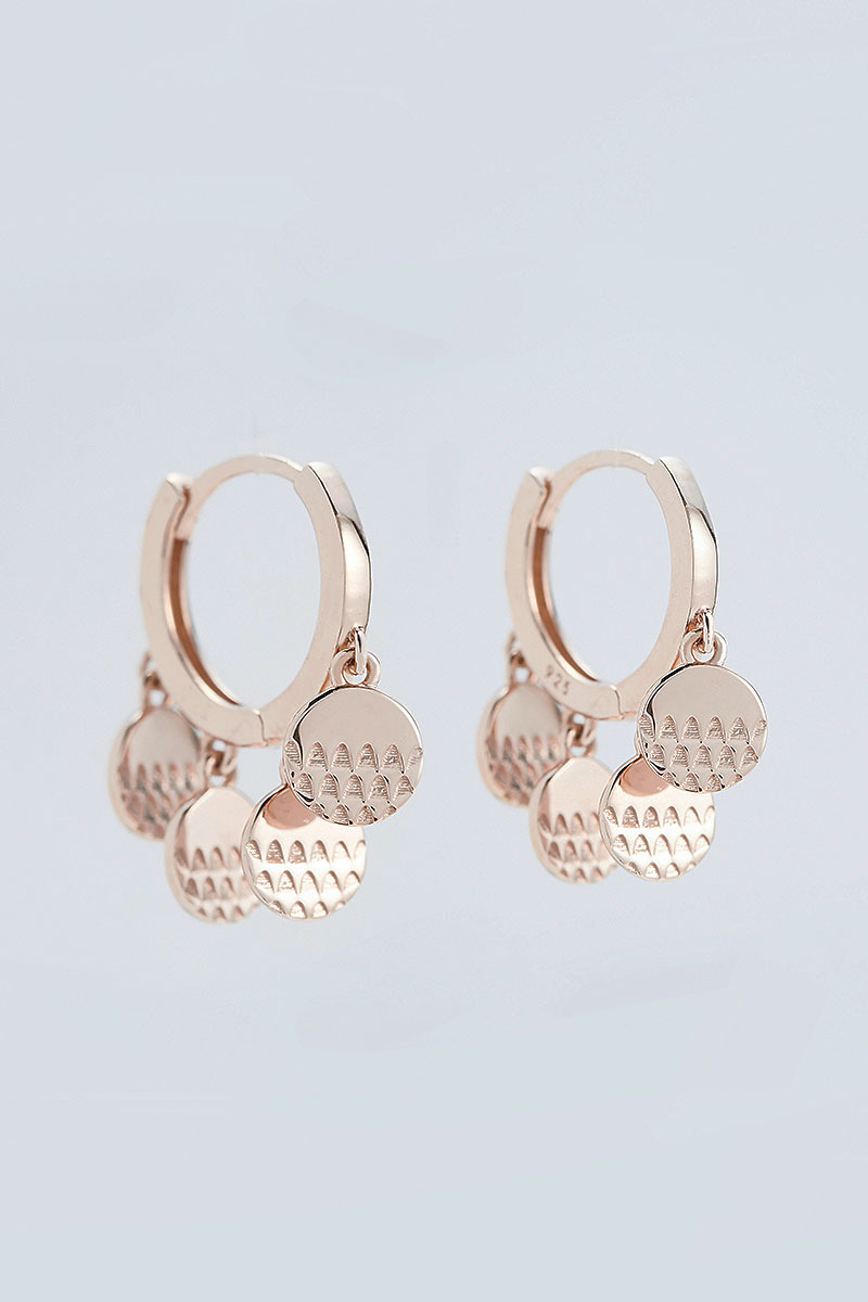 Tiny Coin Earring (이서연 착용)