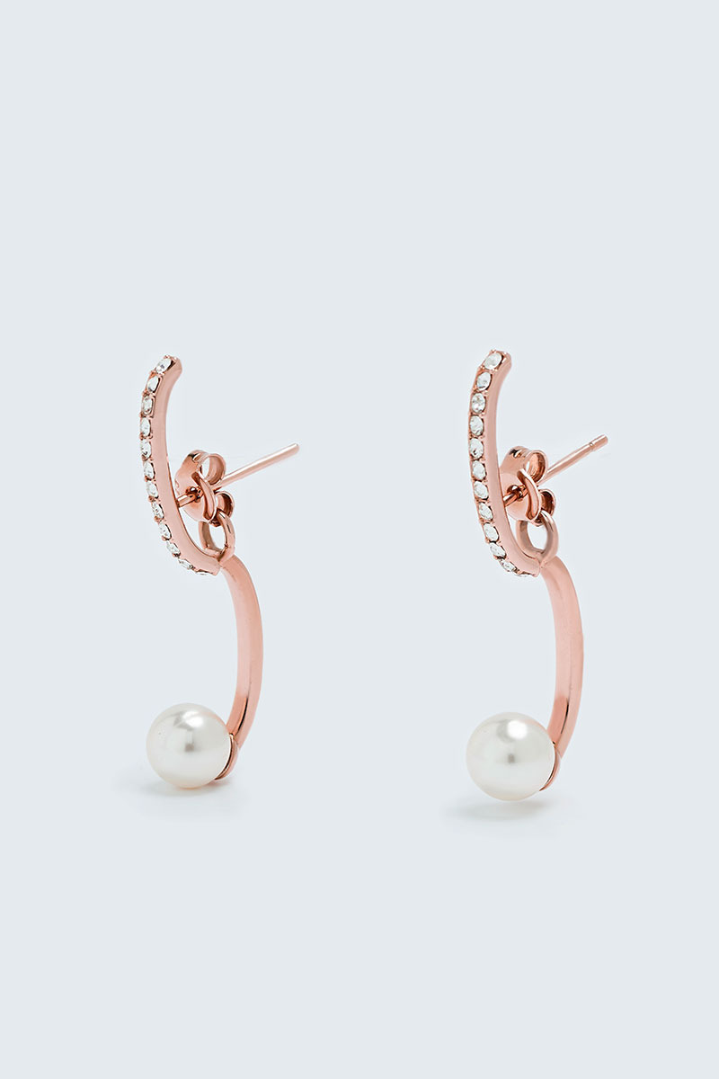 Double Layered Earring