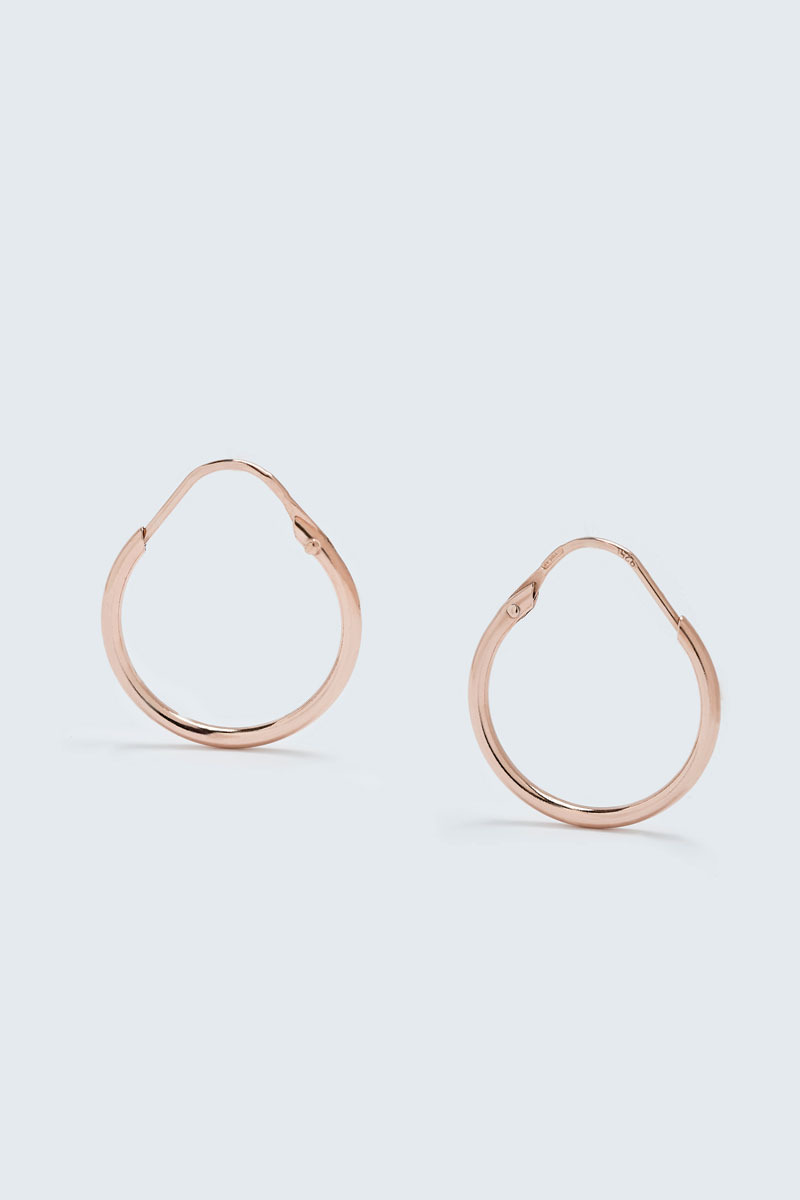 Small Circle Ring Earring