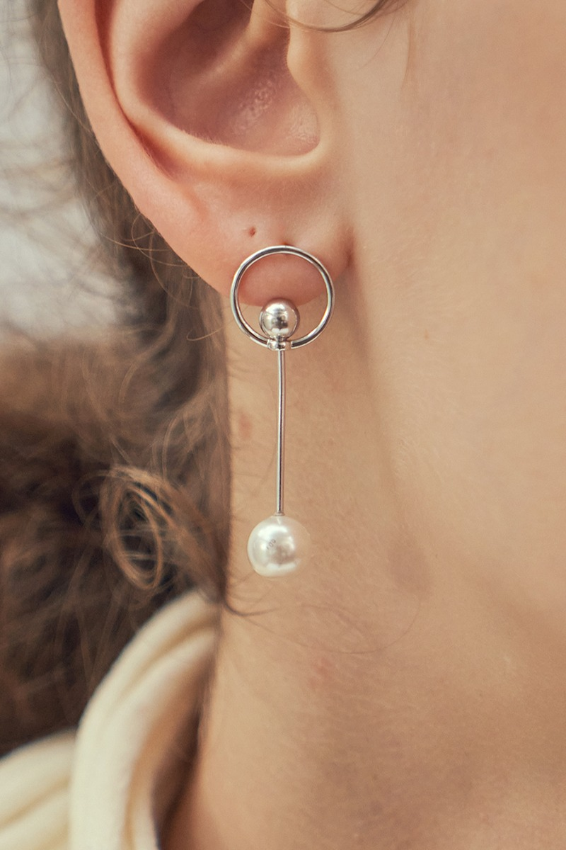 circle thins earring